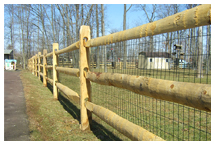 A.C. Fence Company Delaware - Wood Fence - Split Rail Fence Contractors Delaware