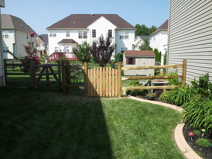 Gallery A C Fence Company Delaware 302 359 1660